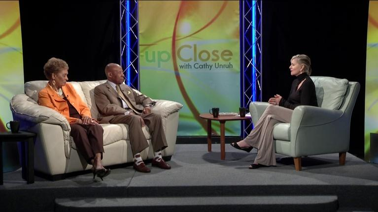 Up Close With Cathy Unruh: April 2019: Dr. Bernard & Lois Watson