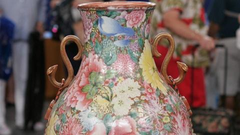 Antiques Roadshow -- Appraisal: Chinese Famille Rose Vase, ca. 1925