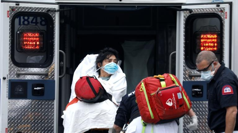 PBS NewsHour: NY has nearly 800 deaths in a day, but infection rate slows