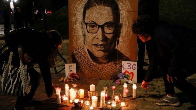 Ginsburg death sparks political battle weeks before election