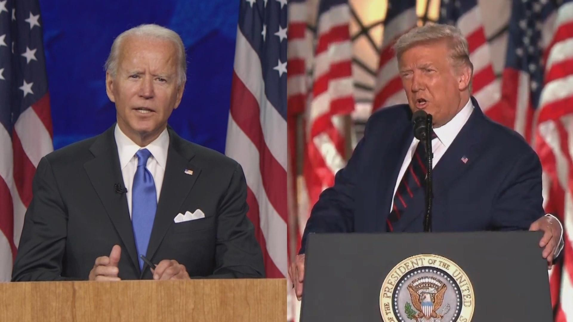 Trump and Biden Visit Kenosha Following Weeks of Protests