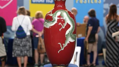 Antiques Roadshow -- Appraisal: Japanese Cloisonné Vase, ca. 1900