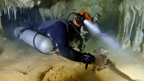 Following the Shackleton of Cave Diving | Digital Extra