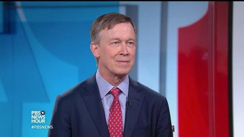 PBS NewsHour -- Hickenlooper: GOP health care bill would be a 'disaster'