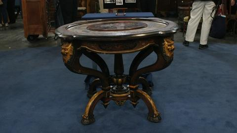 Antiques Roadshow -- Appraisal: Victorian Table, ca. 1865