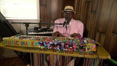 A music maker sings the coronavirus blues