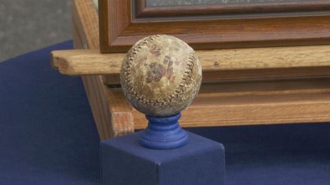 "Antiques Roadshow -- Appraisal: 1903 Andy Oyler Shortest Home Run ""Mudball"""
