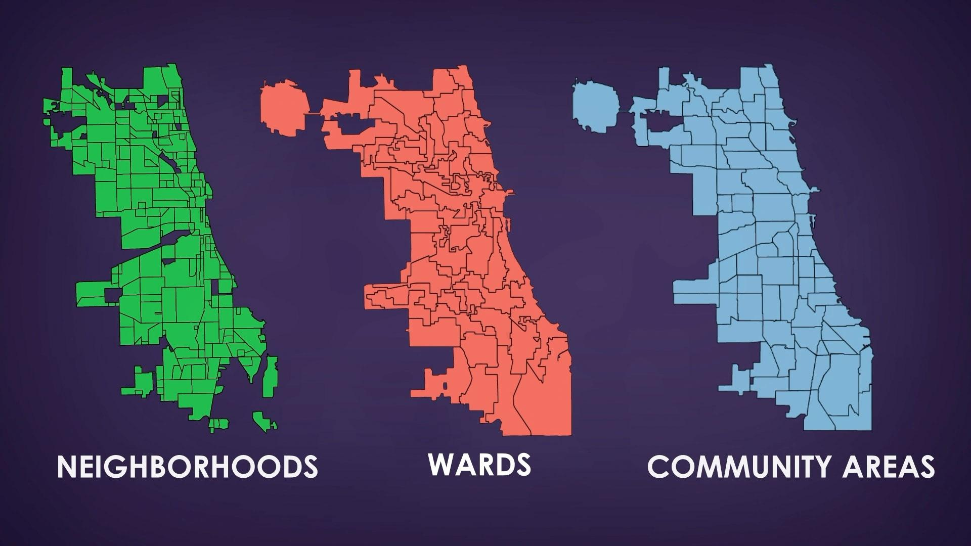 Wards and Community Areas and Neighborhoods? Oh My