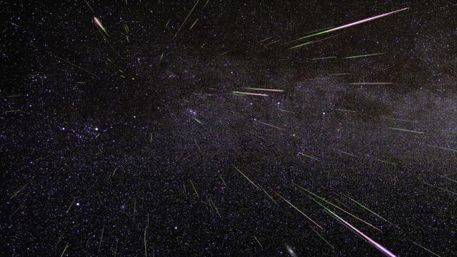 Geminid Meteor Shower - The Sky Guy