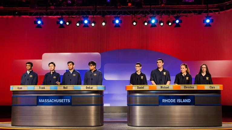 High School Quiz Show: Invitational: Massachusetts vs. Rhode Island (916)