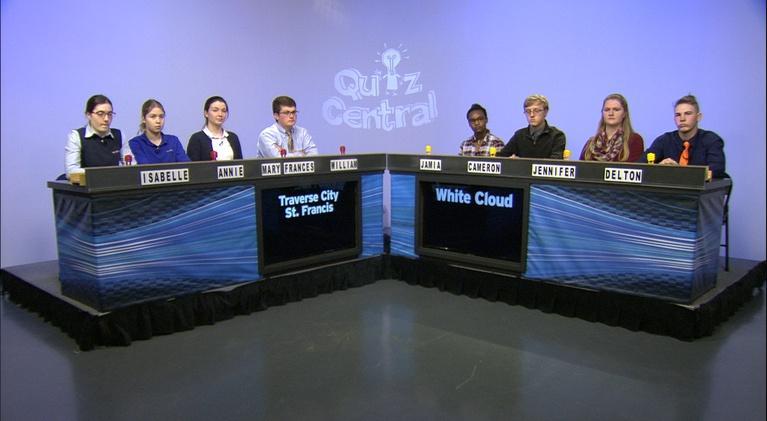 Quiz Central: White Cloud vs. Traverse City St. Francis
