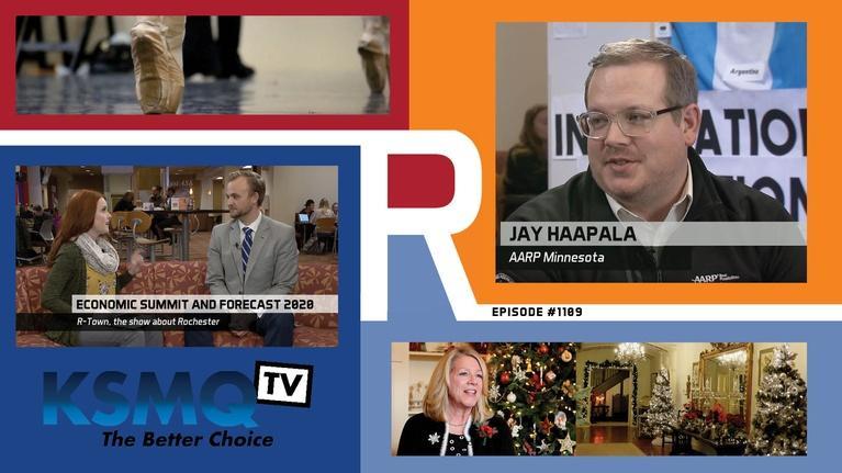 R-Town: Jay Haapala, Mayowood Christmas, Ballet Blake, Sam Gill