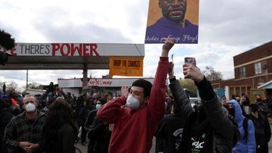 Jubilant crowds celebrate guilty verdict in Chauvin trial