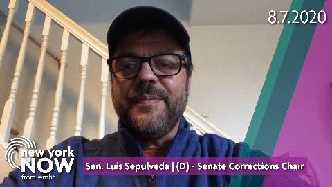 Sen. Luis Sepulveda on Prison System's Handing of COVID-19