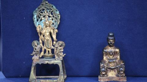 Antiques Roadshow -- Appraisal: Sui & Wei Dynasty Chinese Altar Figures