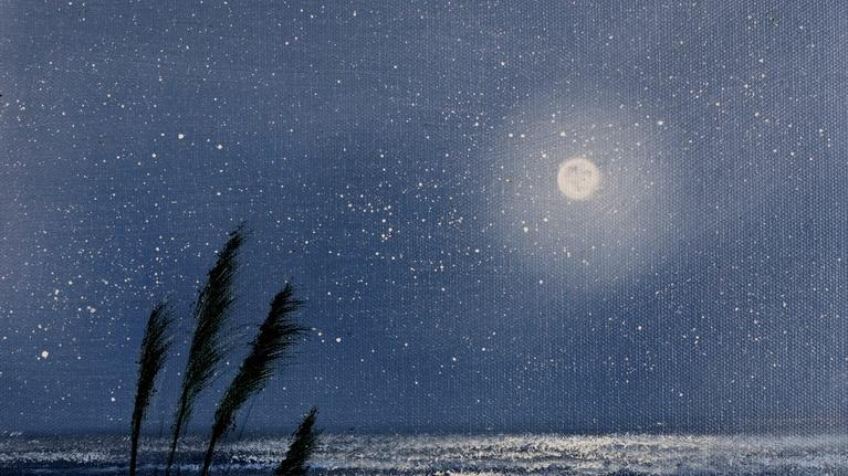"Painting with Wilson Bickford: Wilson Bickford ""Moonlit Beach"" (Season 3)"