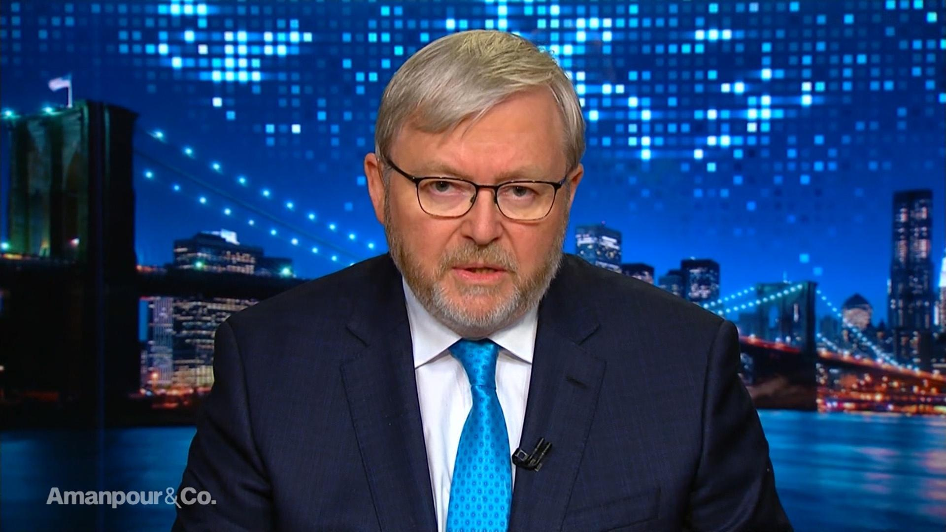 Amanpour And Company Former Australian Pm Kevin Rudd On New Zealand S Attacks Season 2019 Pbs