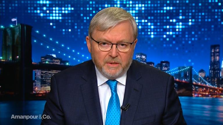 Amanpour and Company: Former Australian PM Kevin Rudd On New Zealand's Attacks