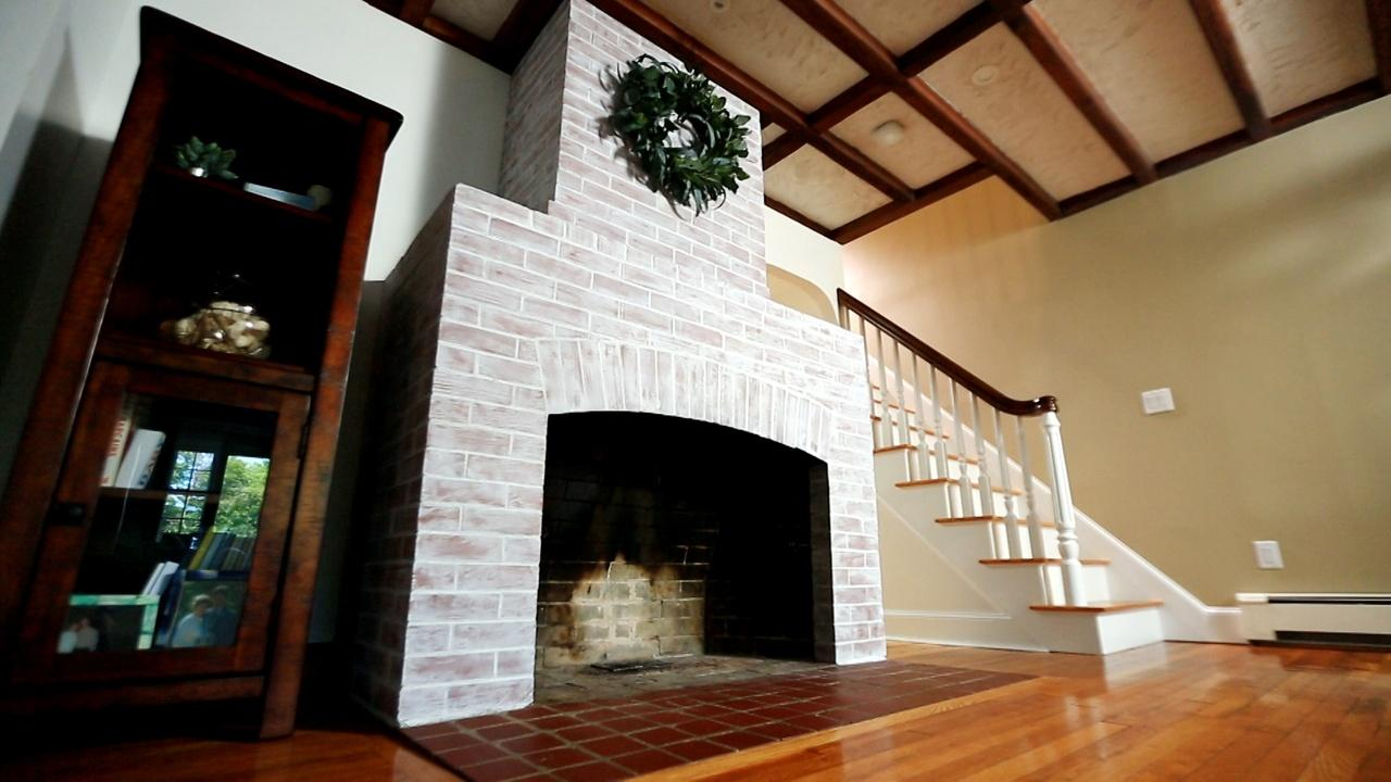 Fireplace Makeover, Drip Edges | Ask TOH