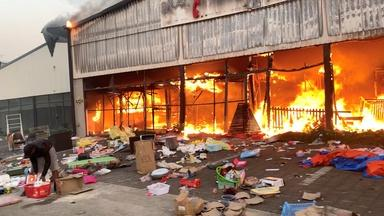 Riots, looting follow Zuma's jailing in South Africa