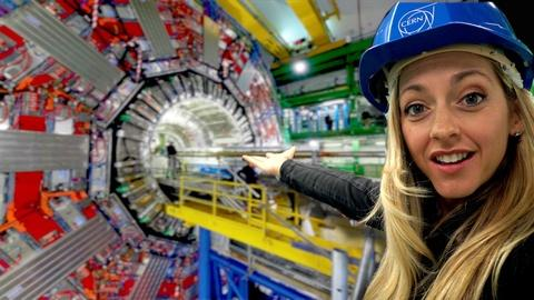 Physics Girl -- Inside the World's Largest Science Experiment
