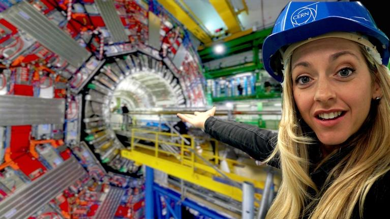 Physics Girl: Inside the World's Largest Science Experiment