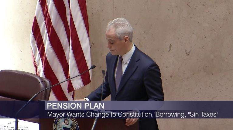 Chicago Tonight: How Mayor Emanuel Hopes to Confront Pension Obligations