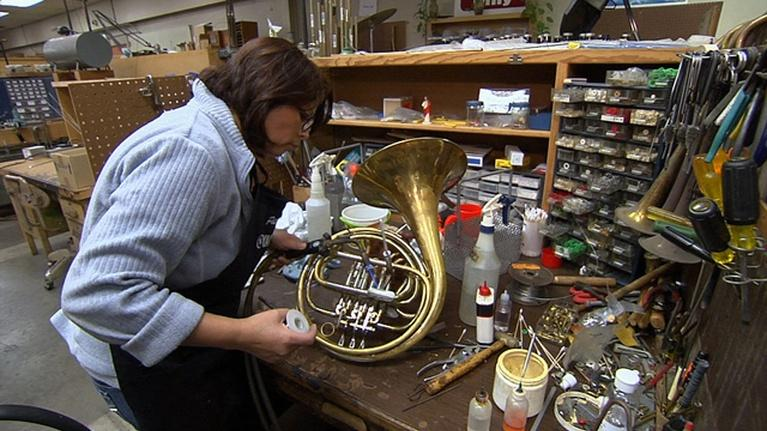 KVIE Arts Showcase: Instrument Repair
