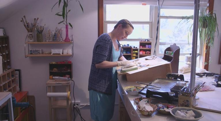Wisconsin Life: Beeswax Artist