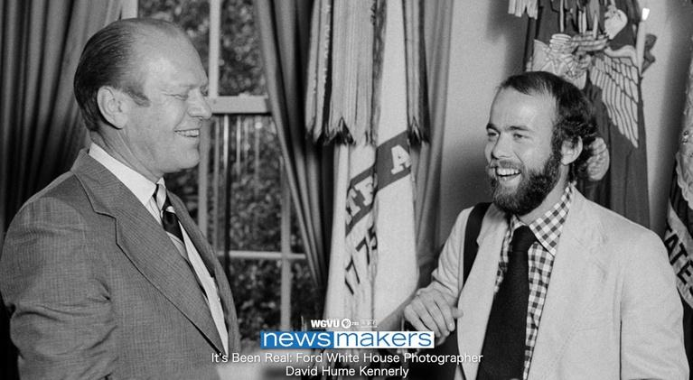 NewsMakers: It's Been Real: Ford White House Photographer David Kennerly