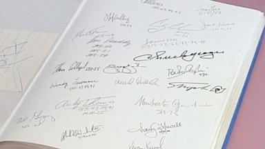 Appraisal: Astronaut Autograph Book
