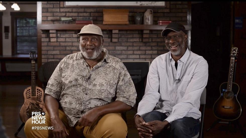 Blues greats Taj Mahal and Keb' Mo' team up on new album image