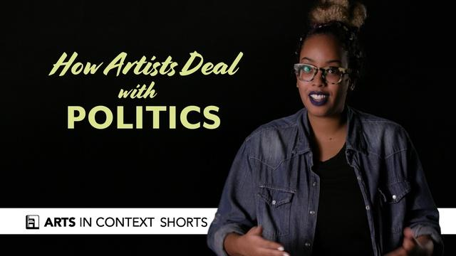 How Artists Deal with Politics