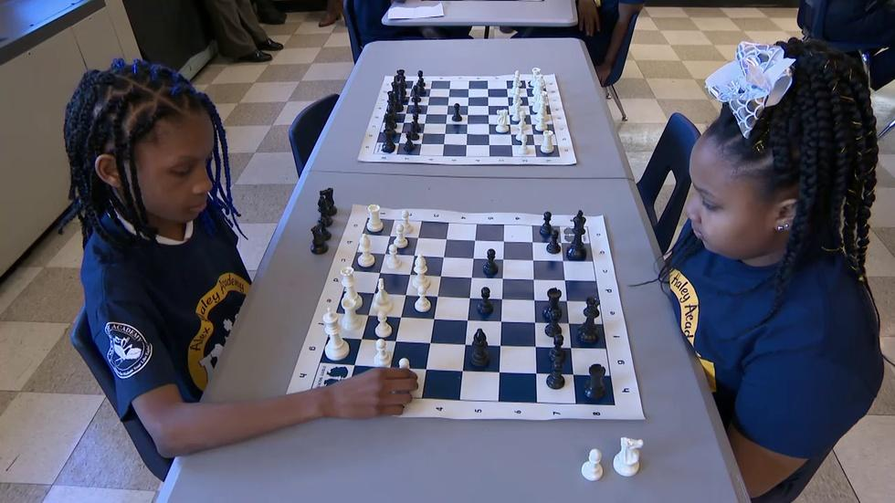 At CPS, Playing Chess About Strategy, On and Off the Board image