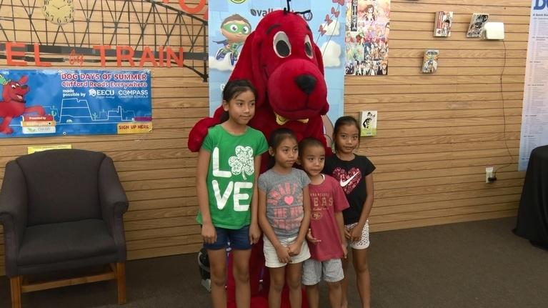 byYou Education: Dog Days of Summer – Clifford Reads Everywhere