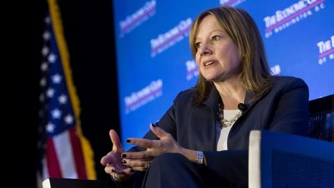 Mary Barra Interview Excerpt
