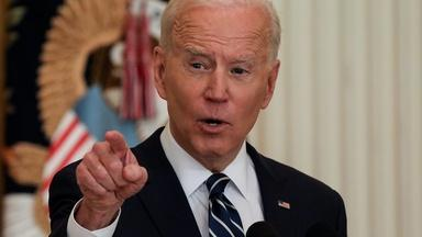 What we learned from Biden's first news conference