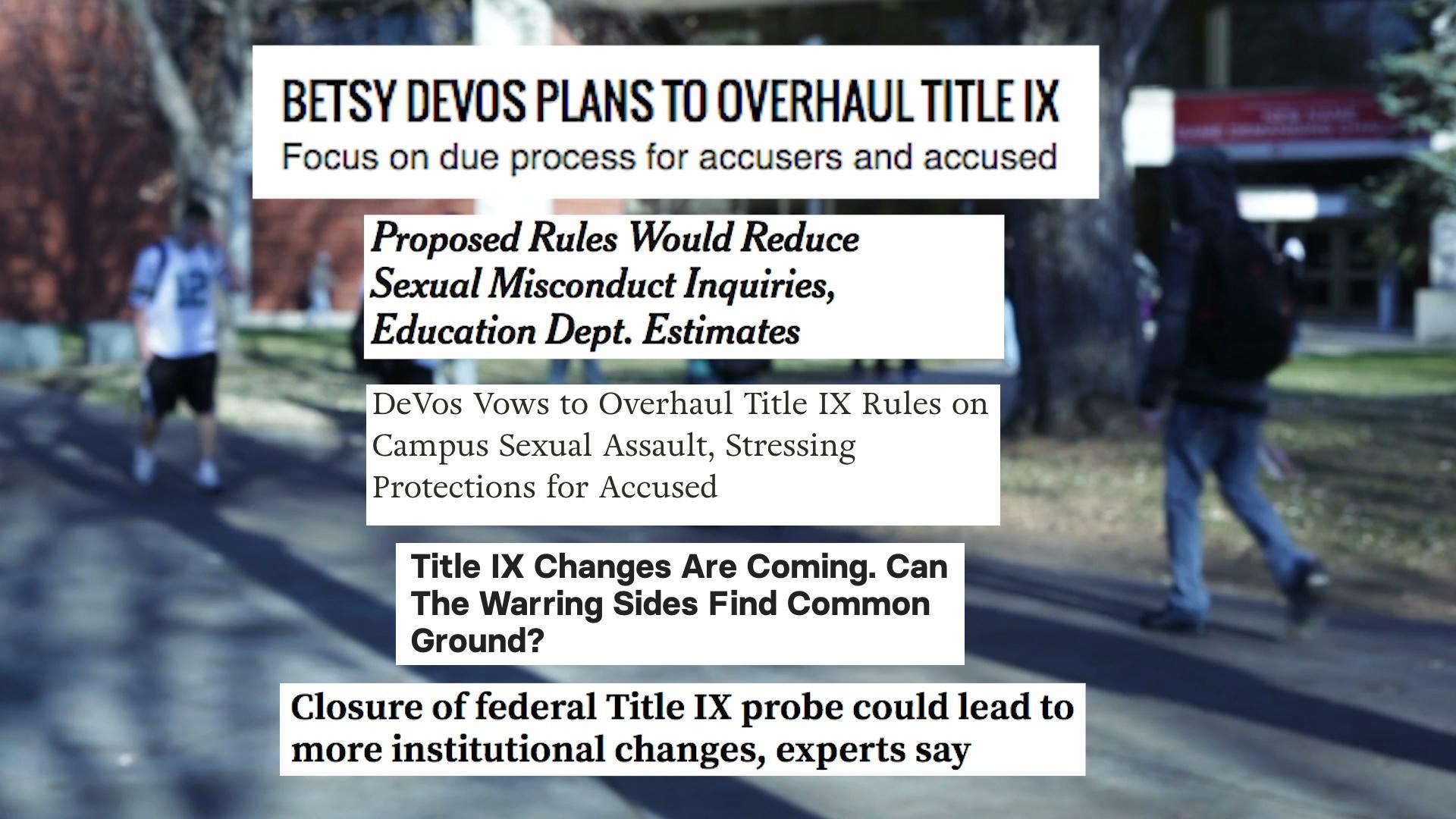 TTC Extra: Title IX Overhaul