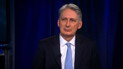 Amanpour and Company -- Philip Hammond on the UK's Position on Israel and Palestine