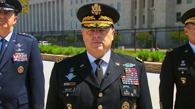 General Mark A. Milley Addresses the Nation