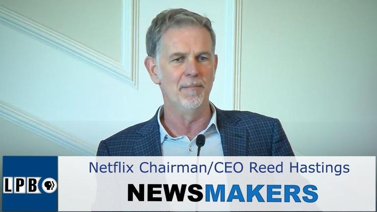 Newsmakers: Netflix | Reed Hastings | 12/12/19 | Newsmakers