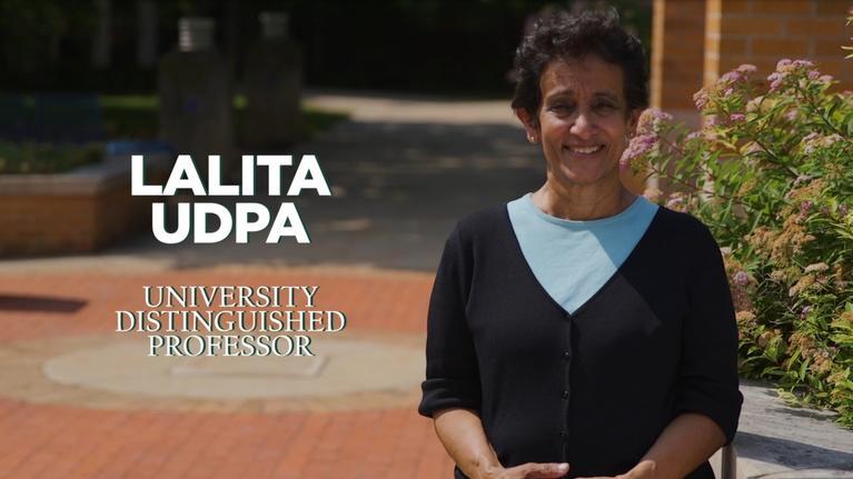MSU Video: Lalita Udpa   University Distinguished Professor