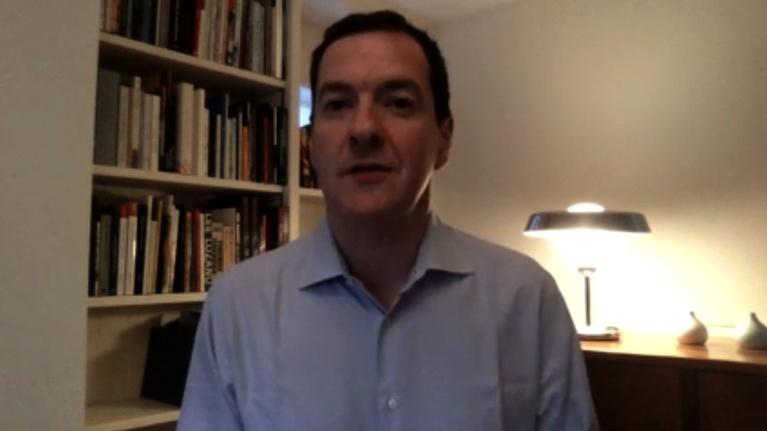 Amanpour and Company: George Osborne Discusses Boris Johnson's Hospitalization