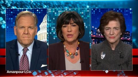 Amanpour and Company -- Mike Rogers & Elizabeth Holtzman React to Today's Hearing