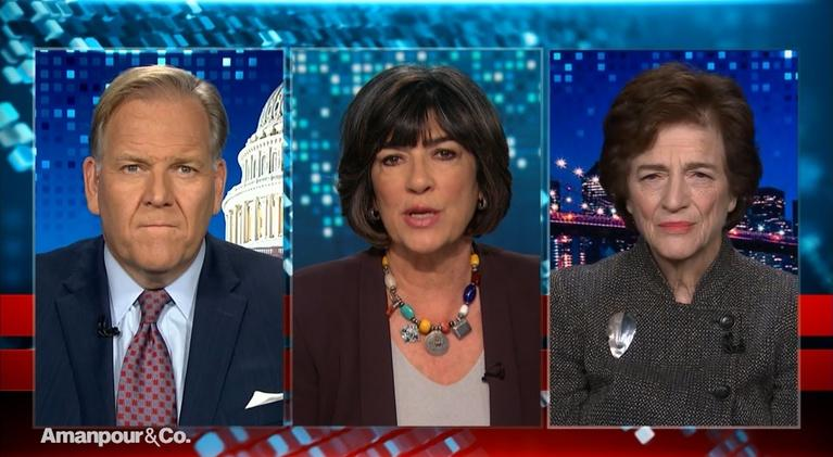 Amanpour and Company: Mike Rogers & Elizabeth Holtzman React to Today's Hearing