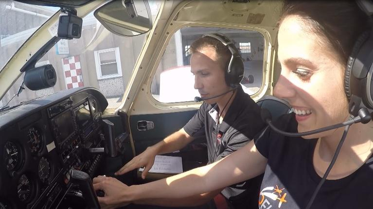 WLVT Specials: Tracy Tries It: Flying