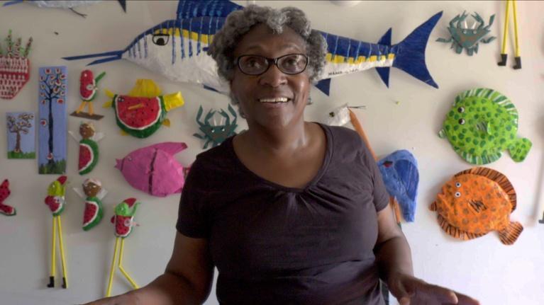 "Curate 757: Mary Onley aka ""Mama Girl"""