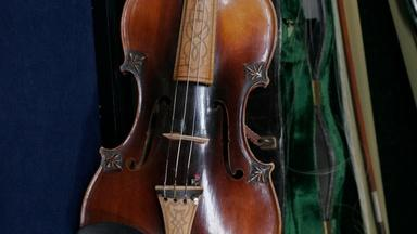 Appraisal: Eugene Sartre Bow & French Violin