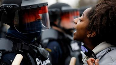 MN enforces curfew after new police shooting sparks protests