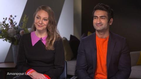 "Amanpour and Company -- Kumail Nanjiani and Emily V. Gordon Discuss ""Little America"""